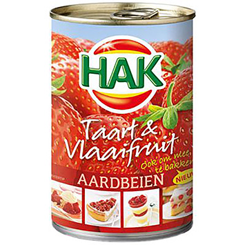 Hak Taart and Vlaaifruit strawberries 430g