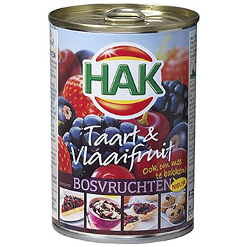 Hak Cake and fruit pie forest fruits 425g