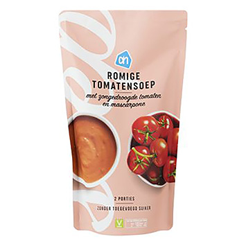 AH Romige tomatensoep 570ml