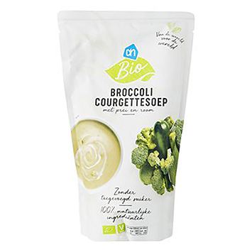 AH Biologische broccoli courgettesoep 570ml