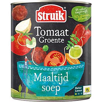 Struik Maaltijdsoep tomaat groente 810g