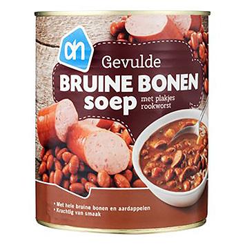 AH Gevulde bruine bonensoep 800ml