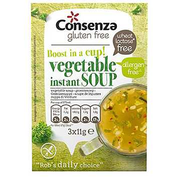 Consenza Vegetable instant soup 33g
