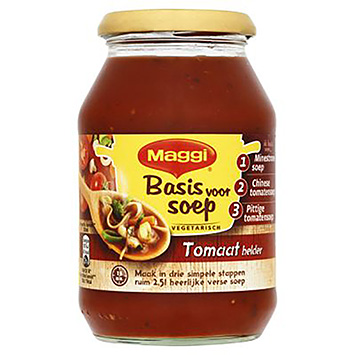 Maggi Basis for soup tomato clear 485ml