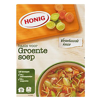Honig-basis for grøntsagssuppe 53g