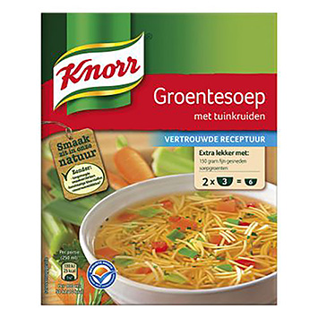 Knorr Vegetable soup with garden herbs 2x31g