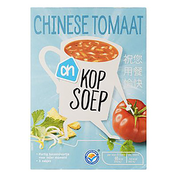 AH Kop soep Chinese tomaat 3x29g