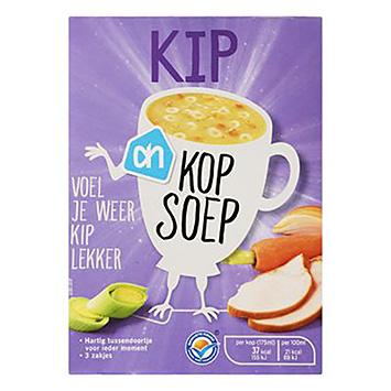 AH Kop soep kip 3x12g