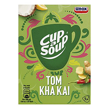 Tasse-eine-Suppe Tom kha kai 3x13g