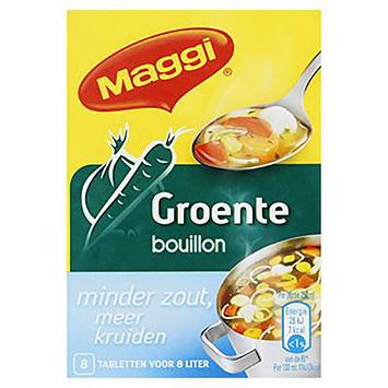 Maggi Vegetabilsk bouillon mindre salt flere urter 72g