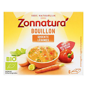 Zonnatura Bouillon Gemüse 66g