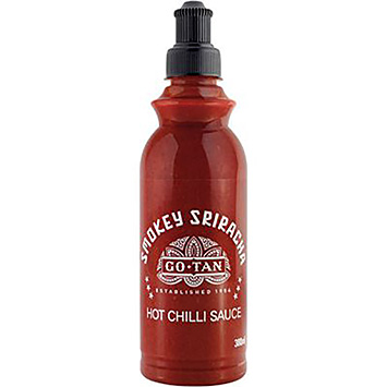 Go-Tan Smokey sriracha hot chilli sauce 380ml