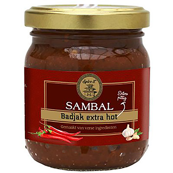 Spice It Sambal badjak extra hot 200g