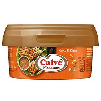 Calvé jordnøddesaus mild færdiglavet 200g