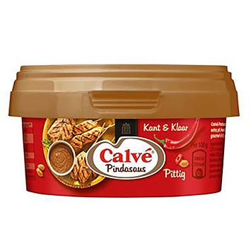 Calvé Erdnusssauce würzig zubereitet 200g