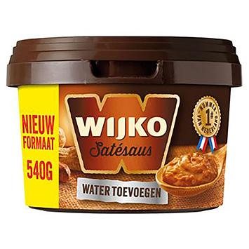 Wijko Satésaus Wasser 540g zugeben