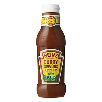 Heinz Curry gewürz ketchup classic 375ml