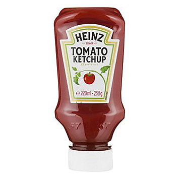 Heinz tomatketchup 220 ml