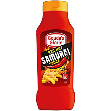 Gouda's glorie Red hot samurai sauce 650ml