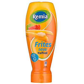 Remia Pommes Frites Sauce halb voll 500 ml