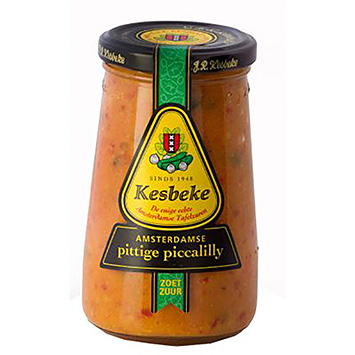 Kesbeke Amsterdam spicy piccalilly 235ml