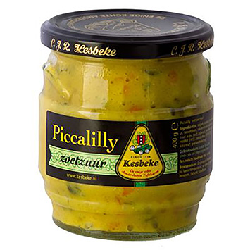 Kesbeke Piccalilly sweet and sour 400g