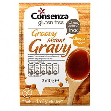 Consenza Groovy instant gravy 30g