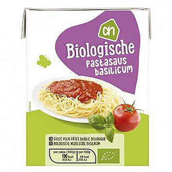 AH Biologische pastasaus basilicum 390g