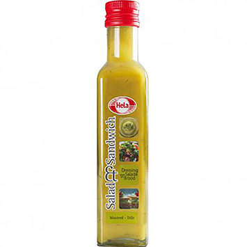 Hela Salad and sandwich mustard dill 250ml