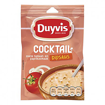 Duyvis Dip sauce cocktail 6g