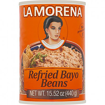 La Morena Refried bayo beans 440g