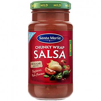 Santa Maria Chunky Wrap Salsa mild 230g