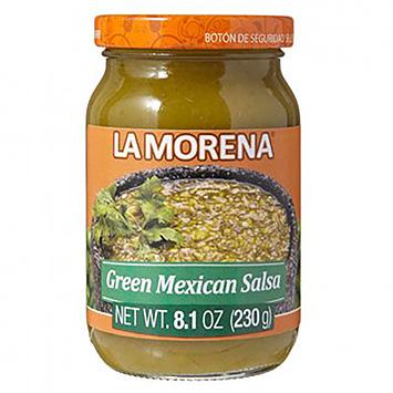 La morena salsa mexicaine verte 230g