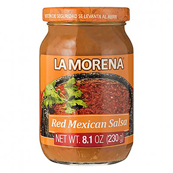 La morena Rote mexikanische Salsa 230g