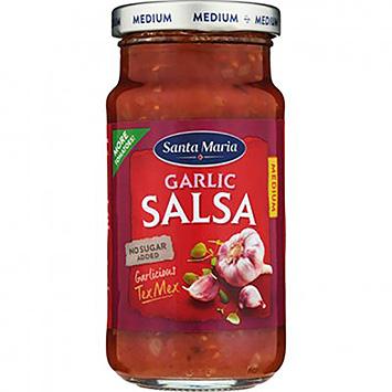 Santa Maria Garlic salsa 230g