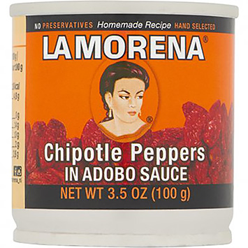La Morena Chipotle peppers in adobo sauce 100g