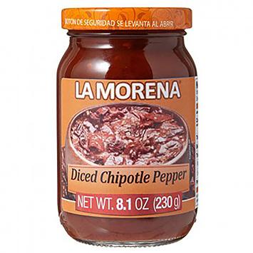 La morena Diced Chipotle pepper 230g