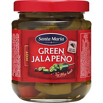 Santa Maria Green jalapeno chaude 215g