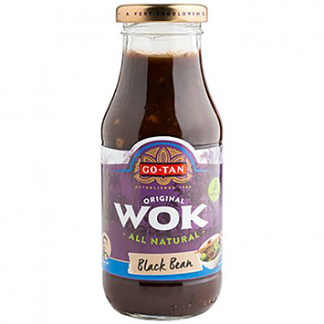 Go-Tan Wok black bean 240ml