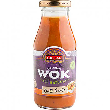 Go-Tan Wok chilli garlic 240ml