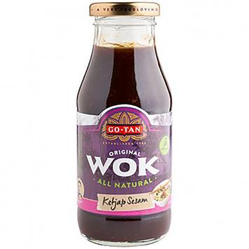 Go-Tan Wok soy sauce 240 ml sesame