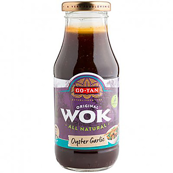 Go-Tan Wok oyster garlic 240ml