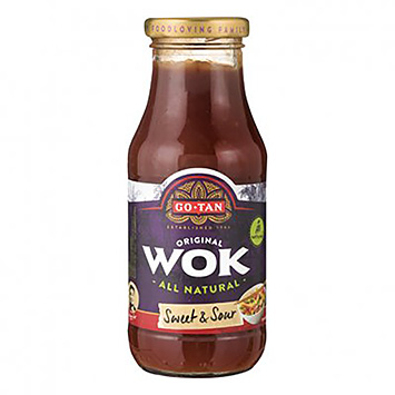 Go-Tan Wok sweet and sour 240ml