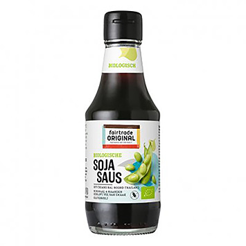 Fairtrade Original Biologische sojasaus 200ml