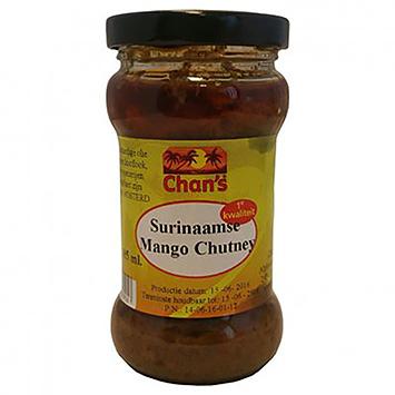 Chan's Surinaamse mango chutney 185ml