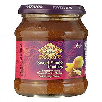 Chutney à la mangue Sweet de Patak's 340g