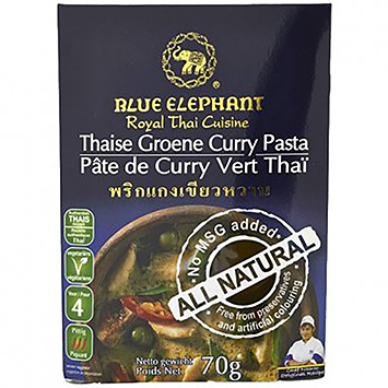 Blue elephant Thaise groene curry pasta 70g