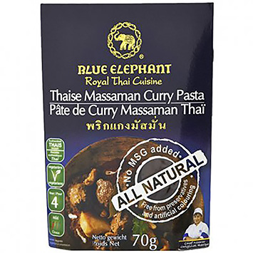 Blå elefant Thai massaman curry pasta 70g