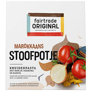 Fairtrade original Moroccan stew of herbal paste 70g