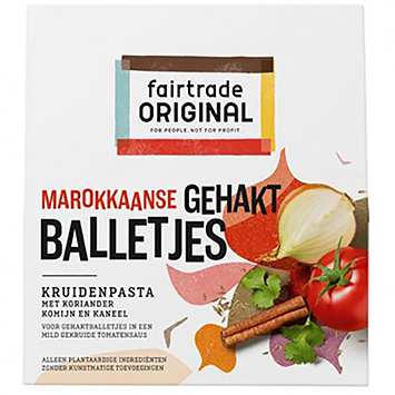 Fairtrade original Moroccan meatballs spice paste 70g